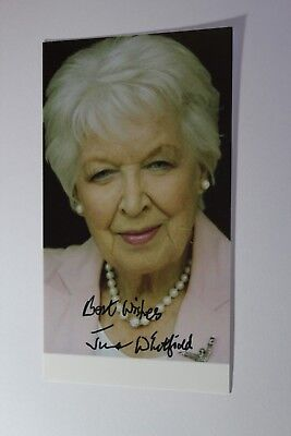 Dame June Whitfield DBE (Boomers) Signed Photo