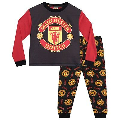 order online highly coveted range of men/man BOYS OFFICIAL MANCHESTER United Manchester City FC Pyjamas ...