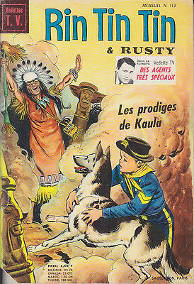C1 RINTINTIN 113 1969 MARCELLO Willy West FUSCO GRECCHI Homme Oncle UNCLE