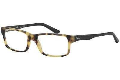 565962c1483 Ray Ban Eyeglasses RX5245 RX 5245 5608 RayBan Yellow Havana Optical Frame  54mm
