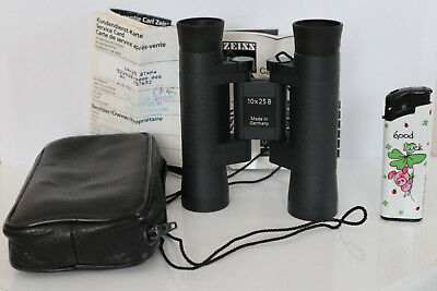 FERNGLAS CARL ZEISS 10X25B binoculars 10 x 25 B BT*P* made in Germany