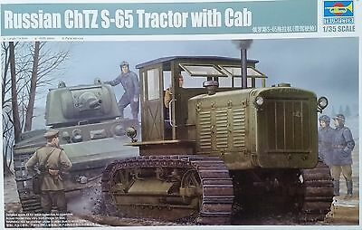 TRUMPETER® 05539 WWII Russian ChTZ S-65  Artillery Tractor with Cab in 1:35