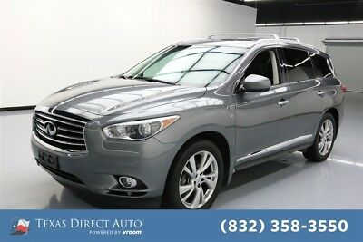 2015 Infiniti QX60  Texas Direct Auto 2015 Used 3.5L V6 24V Automatic AWD SUV Premium Moonroof