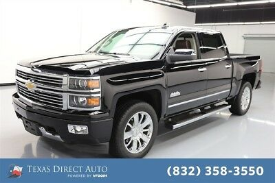 2015 Chevrolet Silverado 1500 High Country Texas Direct Auto 2015 High Country Used 5.3L V8 16V Automatic RWD Pickup Truck
