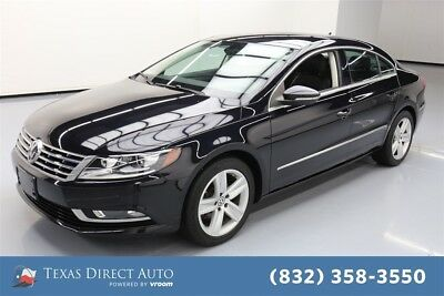 2014 Volkswagen CC Sport 4dr Sedan Texas Direct Auto 2014 Sport 4dr Sedan Used Turbo 2L I4 16V Automatic FWD Sedan