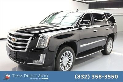 2017 Cadillac Escalade Standard Texas Direct Auto 2017 Standard Used 6.2L V8 16V Automatic RWD SUV Bose OnStar