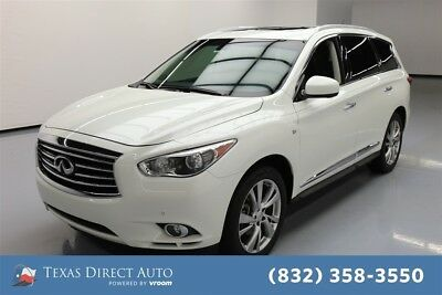 2015 Infiniti QX60  Texas Direct Auto 2015 Used 3.5L V6 24V Automatic FWD SUV Premium Bose Moonroof