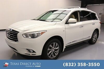 2014 Infiniti QX60  Texas Direct Auto 2014 Used 3.5L V6 24V Automatic AWD SUV Premium