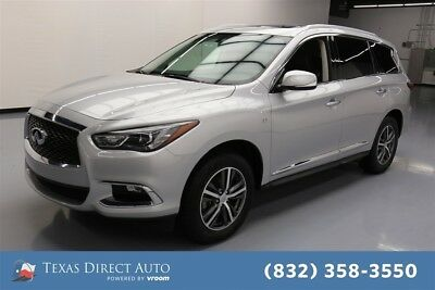 2017 Infiniti QX60  Texas Direct Auto 2017 Used 3.5L V6 24V Automatic AWD SUV Moonroof Bose Premium