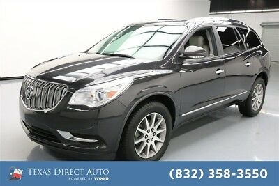 2015 Buick Enclave Leather Texas Direct Auto 2015 Leather Used 3.6L V6 24V Automatic FWD SUV Bose OnStar