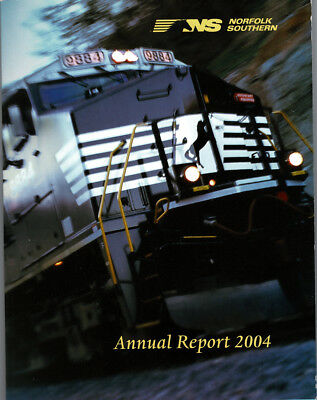 Norfolk Southern Annual Report 2004 FREE SHIPPING