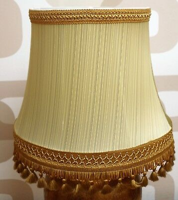 beautiful large vintage lampshade green
