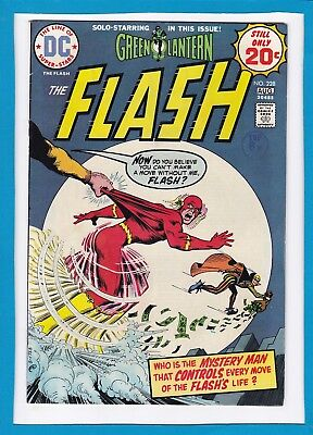 The Flash #228_August 1974_Very Fine+_Co-Starring Green Lantern_Bronze Age Dc!