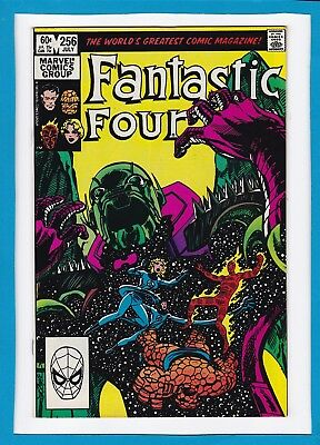 Fantastic Four #256_July 1983_Vf_Annihilus_Signed By John Byrne_Bronze Age!