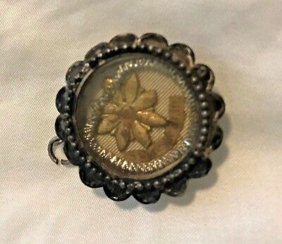 GORGEOUS ANTIQUE CARMELITE NUNS CATHOLIC 1st CLASS ST. THERESE RELIC RELIQUARY