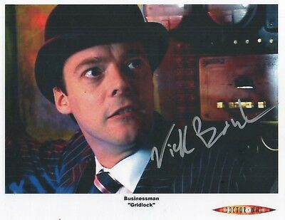 "Doctor Who Auto Photo Print Nicholas Boulton ""Businessman"""