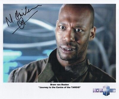 "Doctor Who Auto Photo Print Mark Oliver ""Bram van Baalen"""