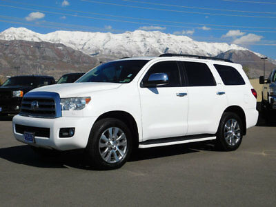 2012 Toyota Sequoia LIMITED EQUOIA LIMITED 4X4 SUV 5.7 V8 LEATHER NAVIGATION SUNROOF 3RD ROW AUTO TOW