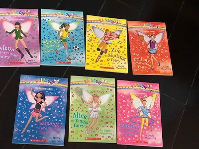 Rainbow Magic The Sports  Fairies complete set 7  Books  By Daisy Meadows