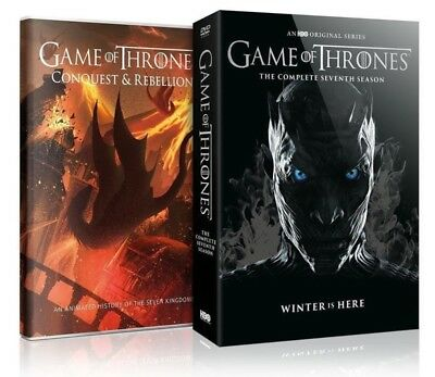 Game of Thrones Complete 7th Season w/ Bonus Disc (DVD, 2017, 5-Disc Set) NEW