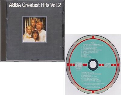 ABBA Greatest Hits Vol. 2 West Germany Target CD Rare 70s Pop Dancing Queen 1979