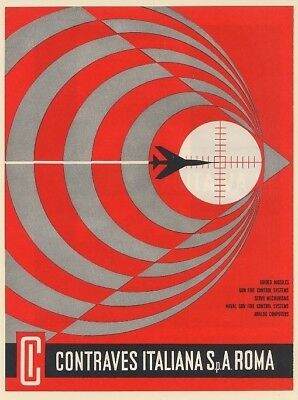 1962 Contraves Guided Missiles Gun Fire Control Servo Naval Analog Computers Ad