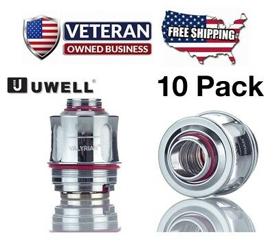 TEN (10) PACK of Uwell Valyrian Tank Coils - 0 15 Ohm