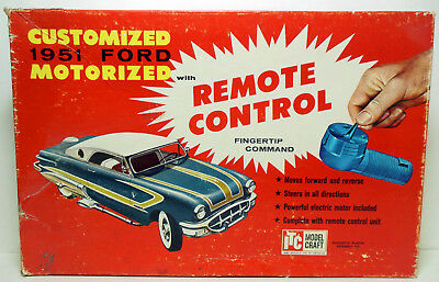 Vintage 1961 ITC Ideal Customizing 1951 Ford with Remote Control Kit