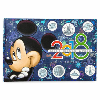 2018 Walt Disney World Mickey Mouse Photo Album Holds 100 Photos 4x6 New Sealed