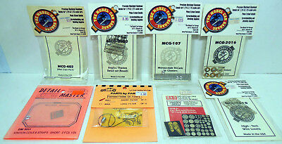 Lot of 8 Photo-Etched Detail Parts Packs Sealed