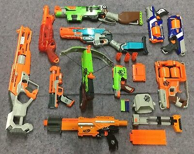 Nerf Sledgefire gun lot used very good condition