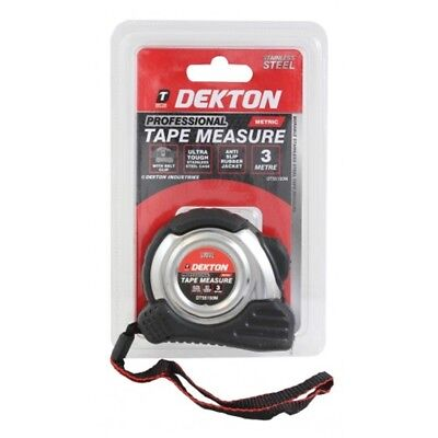 Dekton Professional Tape Measure 3m (metric) - 5m 75m 10m Metric Only Measuring