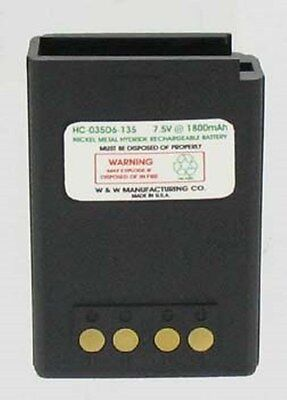 7.5v@2700 mAh NiMH 587-8150-135 BATTERY FOR EF JOHNSON AVENGER SI / SK RADIOS