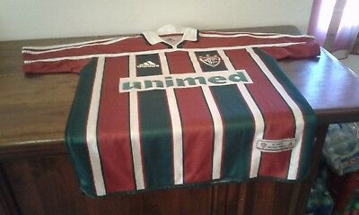 Maglia Shirt Camiseta Official Adidas Fluminense From Brasil M