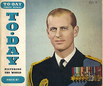 PRINCE PHILIP Picturing To-Day Photo World Magazine 5/53 QUEEN MARY MALBOROUGH