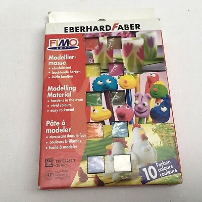 FIMO Soft Modelling Material 10 pack mixed colours
