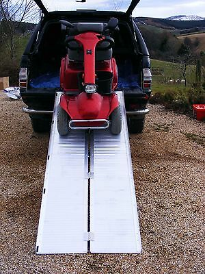 7ft/2.1m Flightcase Folding Loading Van Access Ramp New