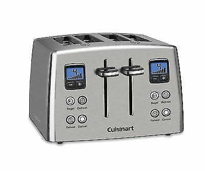 Cuisinart CPT-435 Compact 4-Slice Toaster Stainless Steel