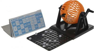 Traditional Plastic Kids Family Lotto Bingo Game Machine with Ball and Card
