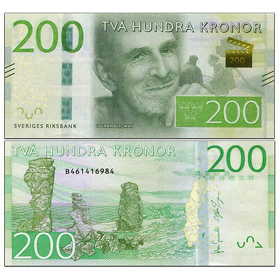 Sweden 200 Kronor, 2015, P-NEW, New design, UNC