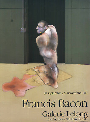 Francis Bacon - figürliche Komposition - Farboffsetlithografie