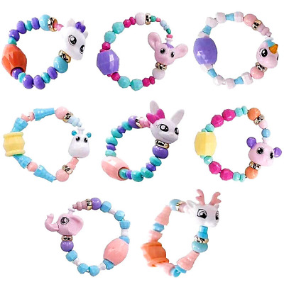 Cute DIY Animal Elasticity Twist Magic Tricks Kids Toys Gifts Mascot Bracelets