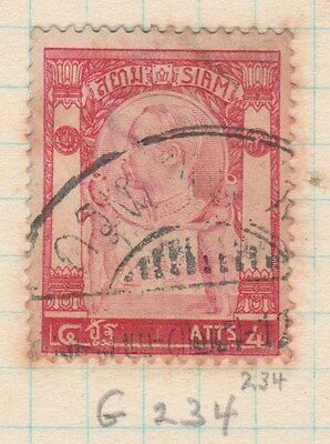 THAILAND 1905 4ATTS King FINE USED #
