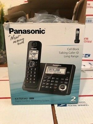 Panasonic Kx-TGF342 Digital Cordless Answering System (2 Handsets)