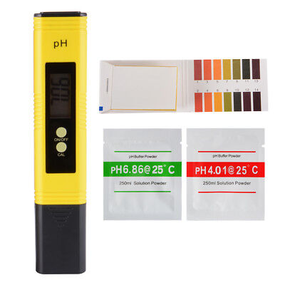 0.01 Resolution Water Digital PH Meter Tester for Household Drinking, Pool TH926