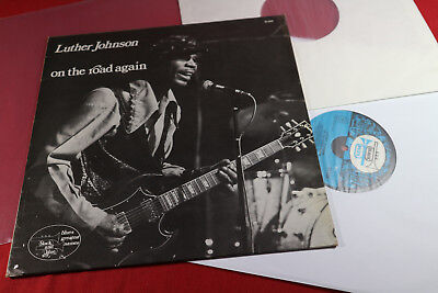 Luther Johnson  ON THE ROAD AGAIN  LP black and blue 33.509 France 1974 sehr gut