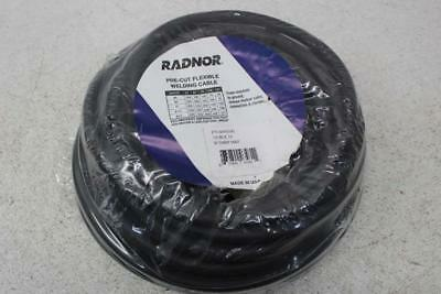 Radnor 64003481 - 1/0 Gauge - 50 Ft - Black - Pre-Cut Flexible Welding Cable
