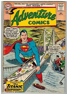 Adventure Comics #315 1963 Legion Of Super-Heroes Dc Silver Age!