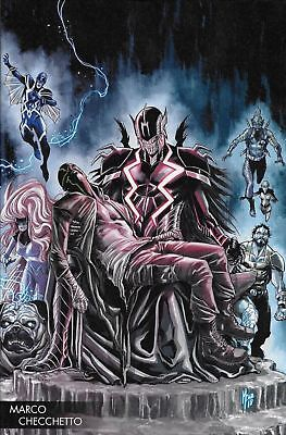 Death of Inhumans #2 RARE Young Guns Checchetto Variant 2018 Marvel 1st print NM