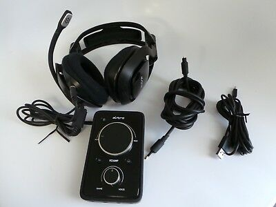 ASTRO Video Gaming Equipment A40 Headset + MixAmp for PS4 PS3 PC Xbox